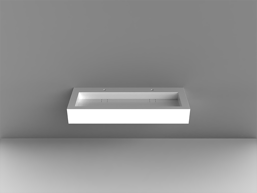 Modulo 2Wall-mounted Washbasin